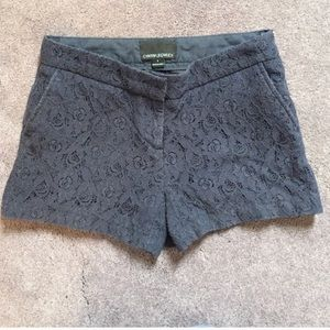 Cynthia Rowley Lace Navy Blue Shorts